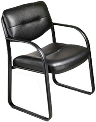 Picture of Marquis MS1006V Black Guest Office Chair