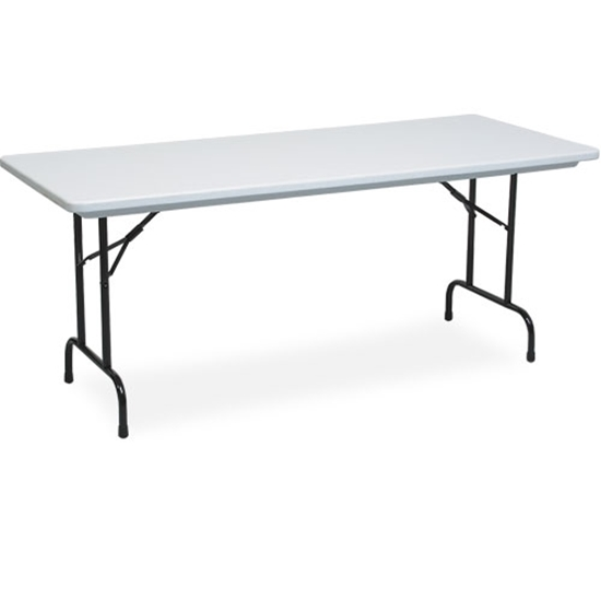 "Picture of PS Furniture PT1872-PL Polylite®  18"" x 72"" Plastic Top Training Table"
