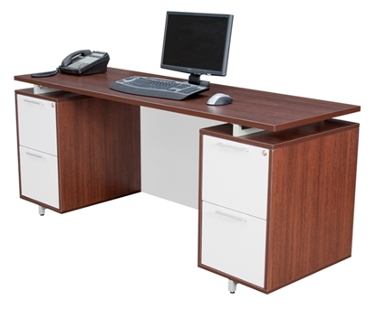Picture of Regency ONCSDP7124 Modern Executive Desk