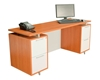 Picture of Regency ONCSDP7124 Modern Executive Desk
