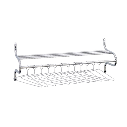 "Picture of Safco 4164 48"" Wide Coat Rack with Shelf"
