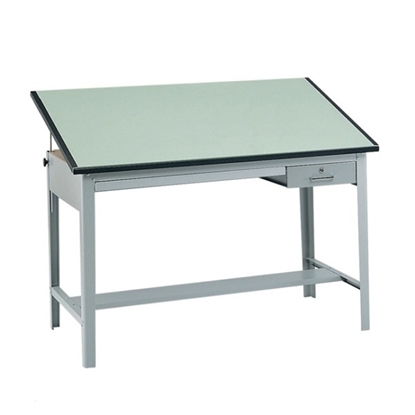 "Picture of Safco 3962GR-3952 Precision Drafting Table with 60""W top"