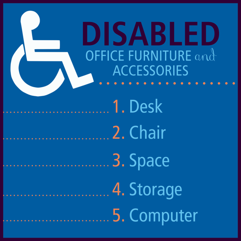 5 Office Furniture Tips for Disabled People
