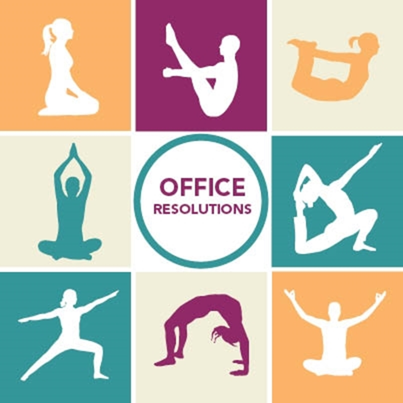 3 Quick Yoga Poses for the Office