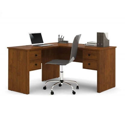 Picture Of Bestar 45420 L Shaped Desk
