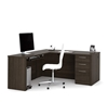 Picture of Bestar 60852 L Shaped Office Desk