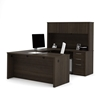 Picture of Bestar 60857 U Shaped Desk with Hutch