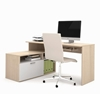 Picture of Bestar 90426 L Shaped Desk