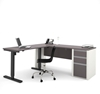 Picture of Bestar 93885 Sit Stand Desk