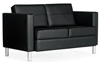 Picture of Global 7876 Leather Two Seat Sofa