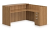 Picture of Offices to Go SL7130RDS L Shaped Reception Desk with Drawers