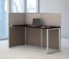 "Picture of EOD160MR-03K - 60""w Straight Desk Open Office"