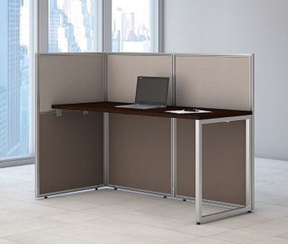 "Picture of EOD160MR-03K - 60""w Straight Desk Open Office"