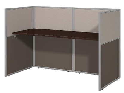 "Picture of EOD260MR-03K - 60""w Straight Desk Closed Office"