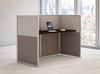 """Picture of EOD260MR-03K - 60""""w Straight Desk Closed Office"""