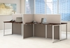 Picture of EOD660MR-03K 4 Person Straight Desk Open Office