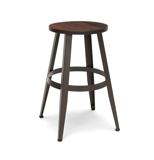 "Picture of OFM 33924W Edge 24"" Wood Stool"