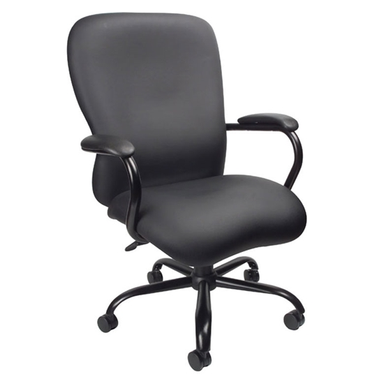 Picture of Boss B990-CP Black Big & Tall Office Chair