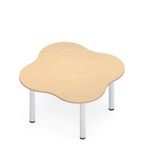 "Picture of 59"" Zook ZK45959  4-Person Table"