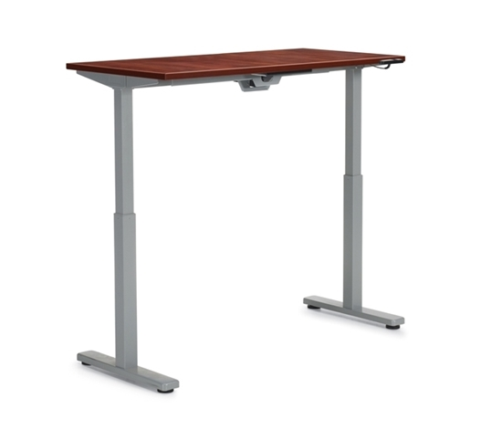 "Picture of Offices to Go OTGHA6024 60"" x 24"" Height Adjustable Table Desk"