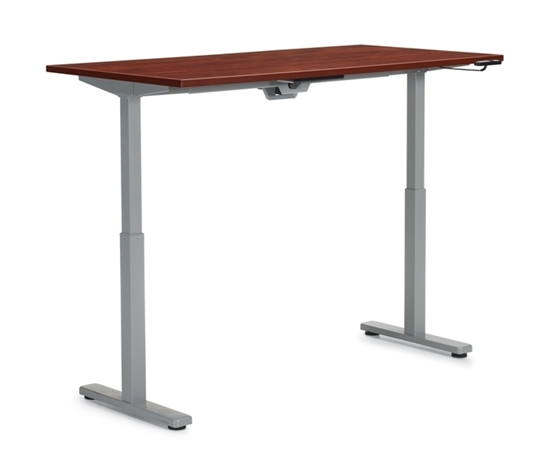 "Picture of Offices to Go OTGHA6030 60"" x 30"" Height Adjustable Table Desk"