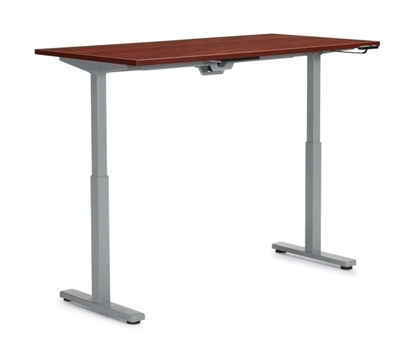 "Picture of Offices to Go OTGHA7124 71"" x 24"" Height Adjustable Table"