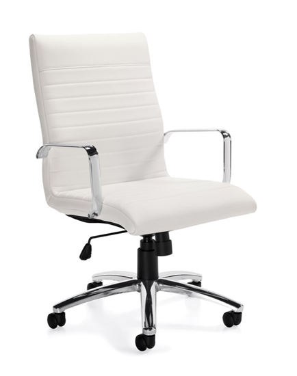 offices to go otg11730b executive leather chair. Black Bedroom Furniture Sets. Home Design Ideas