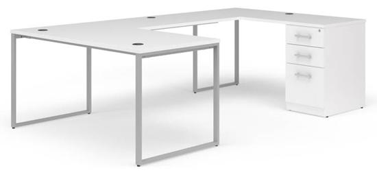 "Picture of OFM Fulcrum FC013 60""W U-Shaped Desk"