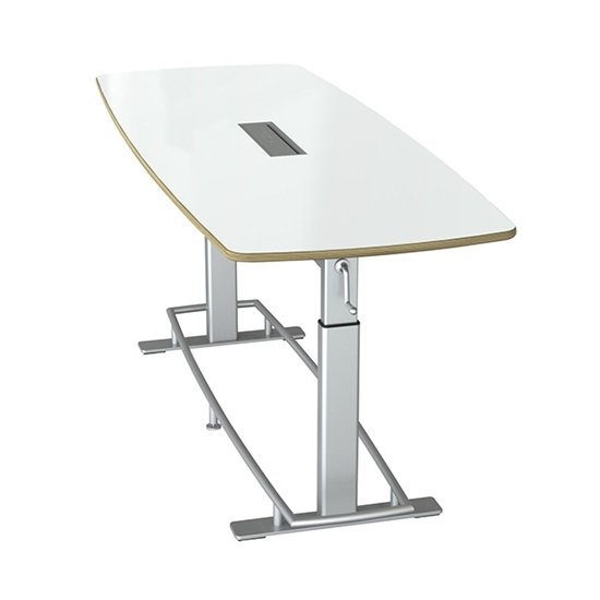 "Picture of Focal Confluence 94"" Height Adjustable Conference Table"