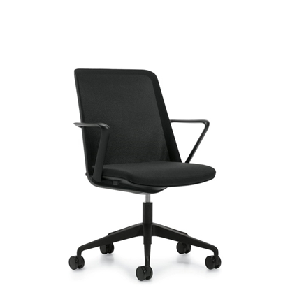 Picture of Global 8458 Prefer Mesh Back Chair with Black Frame & Base
