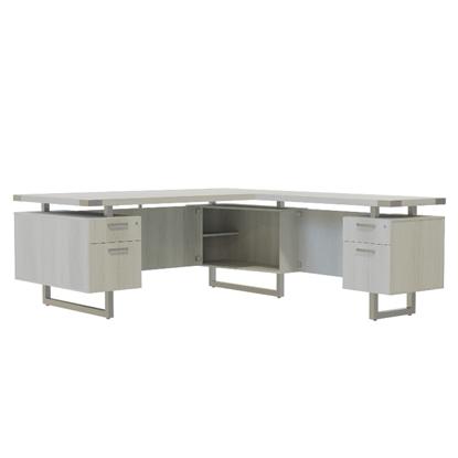 """Picture of Mirella MRLFF6630 66""""W L-Shaped Desk"""