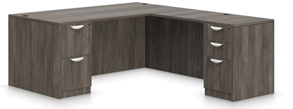 Picture of Offices to Go SL7136DS Eco Friendly L Shaped Desk