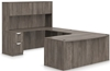 Picture of Offices to Go SL7148BCL Executive U Shaped Desk