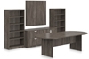 Picture of Offices to Go SL9544RS 8 ft Conference Room Table Package