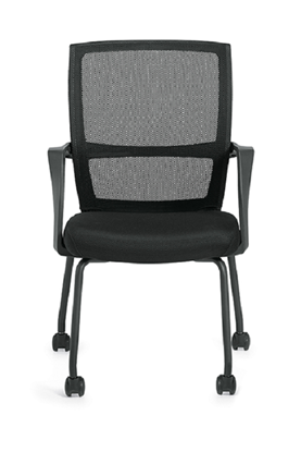Picture of Offices to Go OTG13050B Low Back Mesh Armchair