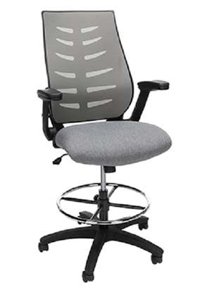 Picture of OFM 531 MID-BACK MESH DRAFTING STOOL
