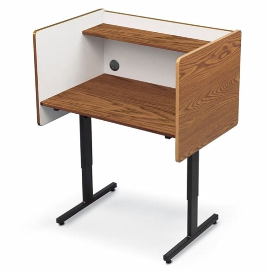 Picture of Height Adjustable Study Carrel