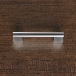 Square Edge Silver Handle*