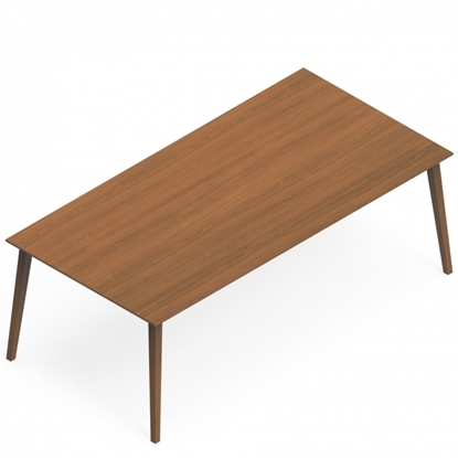 "Picture of Corby CBYRT 78"" Wood Veneer Table"