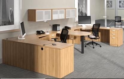 Picture of OTG SL7136DI-SL42425C Double Desk Workstation