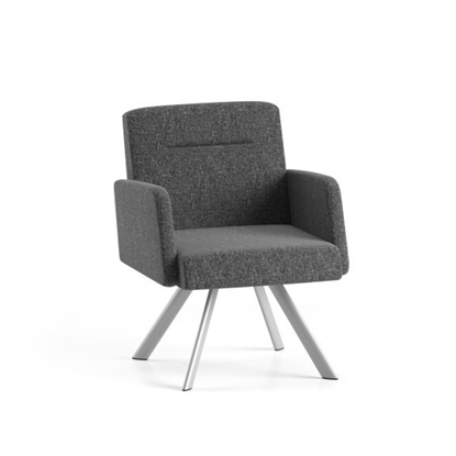 Picture of Lesro WL1101  Willow Lounge Chair