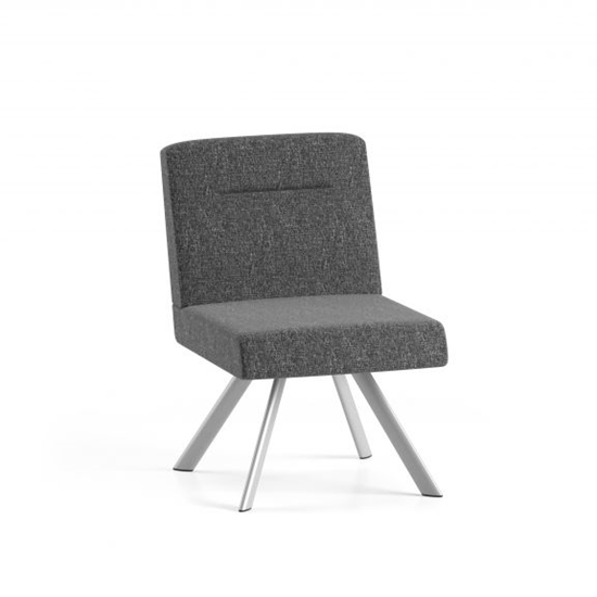 Picture of Lesro WL1102 Willow Armless Lounge Chair