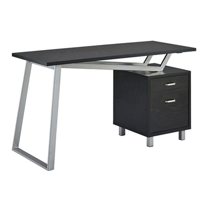 Picture of Safco 1001VL SOHO V-Desk with Laminate Top