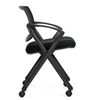 Picture of Offices to Go OTG11340B Mesh Back Flip Seat Nesting Chair