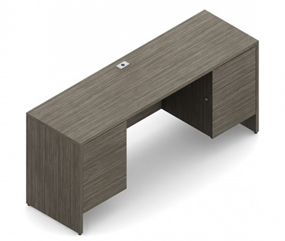Picture of Global G2066CK Knee-space Credenza