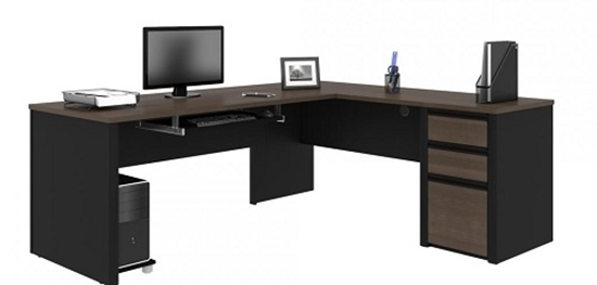 Picture of Bestar 93880 L Shaped Desk