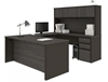 Picture of Bestar 99853 U Shaped Desk with Hutch