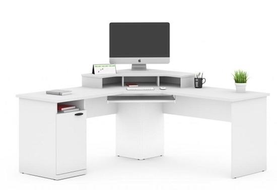 Picture of Bestar 69430 L Shaped Corner Computer Desk