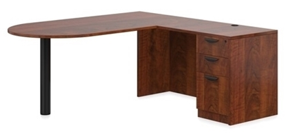 "Picture of Offices to Go SL7136DI 72""W x 84""D L-Shaped D Island Desk"