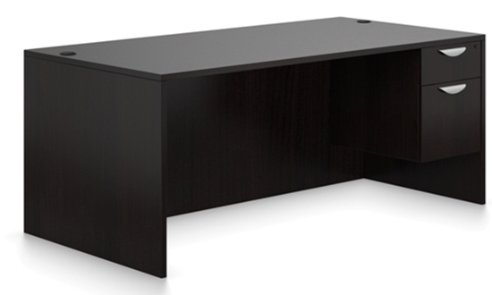 """Picture of Offices to Go SL7124CS 71""""W Office Desk"""